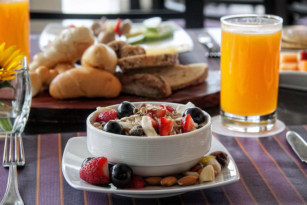 Healthy Breakfast Foresta Hotel Lima San Isidro