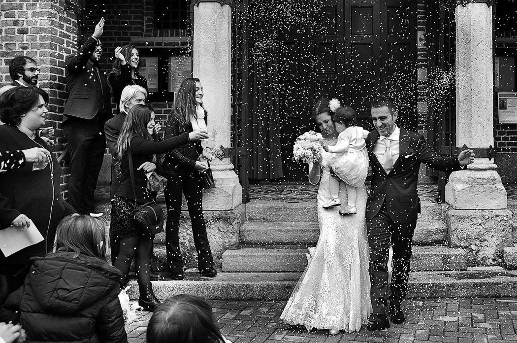 Milano. Matrimonio in San Martino