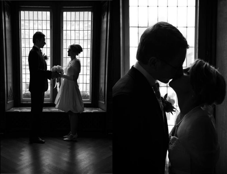 Beispiel: Portrait des Brautpaares, Foto: Julia Sikira Photography.