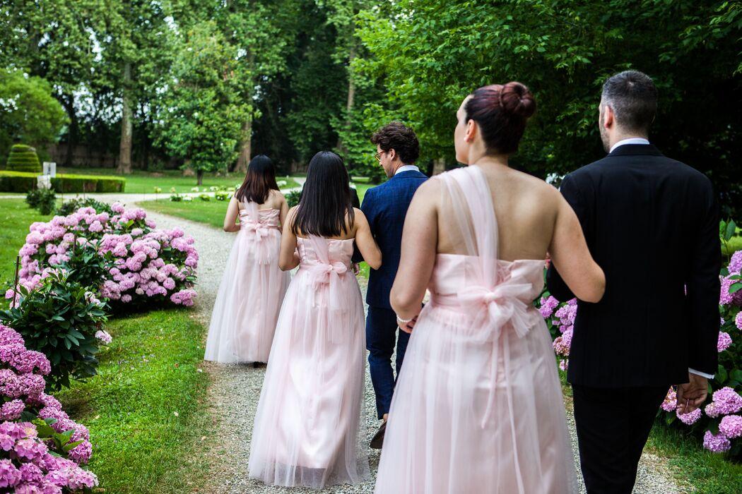 B&B Eventi Wedding - le damigelle