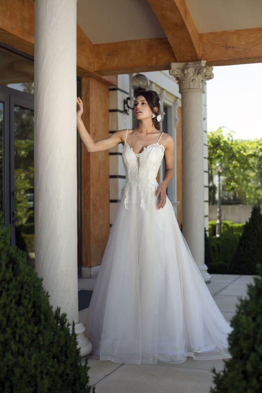 Abito da sposa modello Ginevra, collezione Romantica