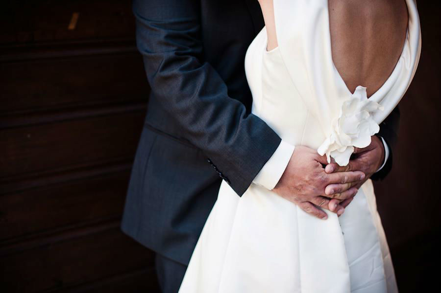 Beispiel: Brautpaar, Foto: mimitolu Brautmode.