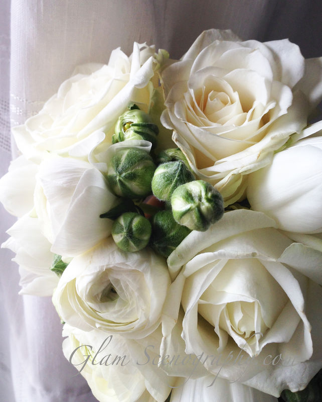 Bouquet romantico. Glam Scenography