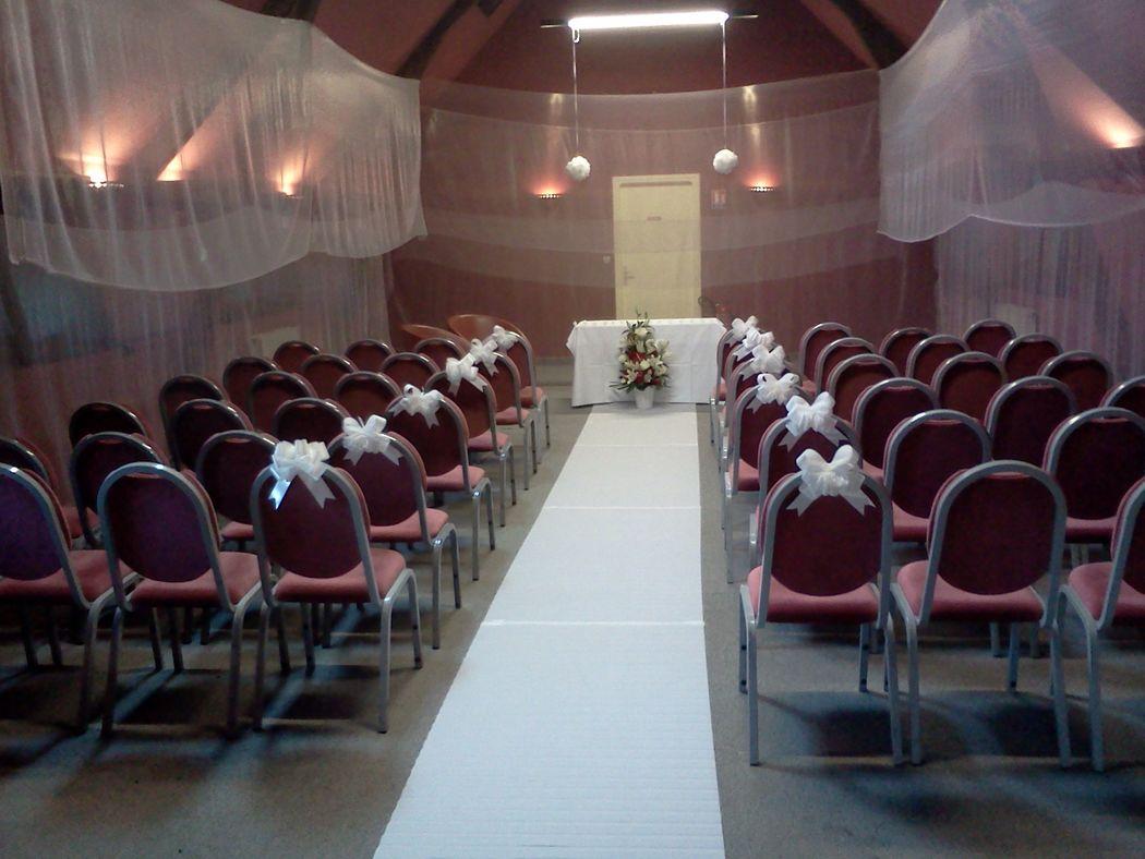 Une salle de cérémonie en salle Monet