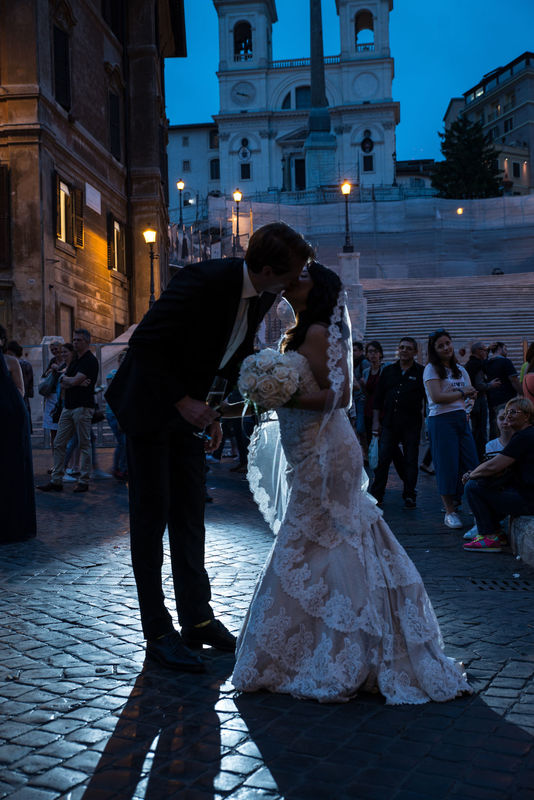 Destination Wedding in Rome