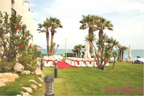 Cérémonie de mariage en Espagne en bord de mer