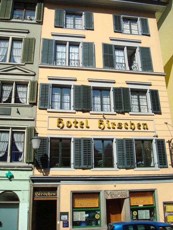 Beispiel: Außenansicht, Foto: Hotel Hirschen.