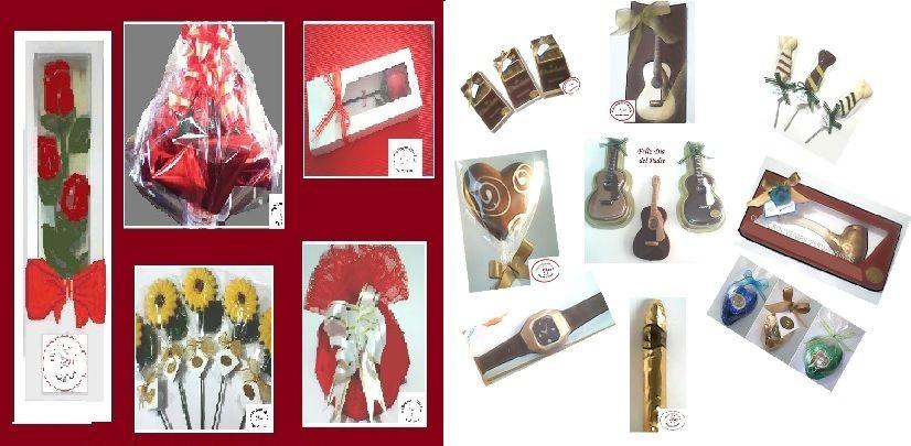 Elaboramos toda clase productos  elaborados en exquisita chocolatería fina para todo evento y fechas especiales, solicite nuestros Catálogos  para Dia de la Madre, del Padre, Misa de honras, Primera Comunión,Navidad, etc. sin compromiso.Contáctenos.