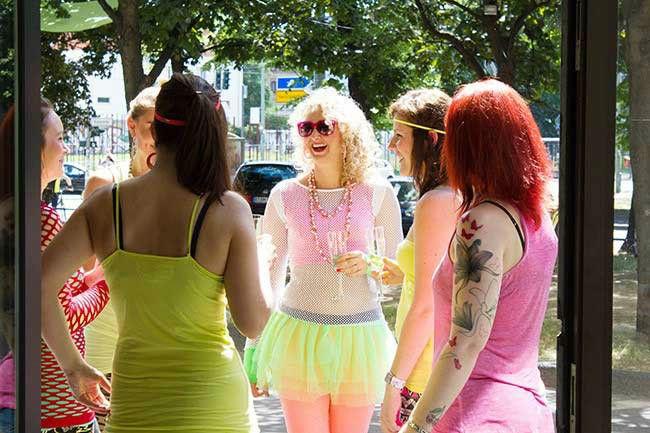 Beispiel: Shooting mit lustigen Kostümen, Foto: Farbtonwerk.