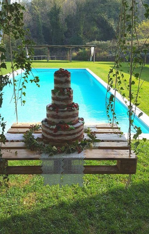Torta Natural chic - Wedding Cake La Pampa