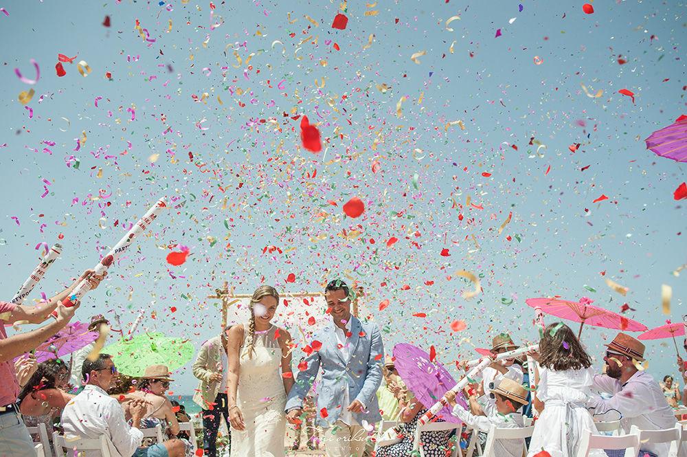 Boda en la paya de Zahara - Toñi Orihuela Eventos