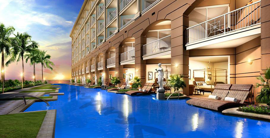 Beispiel: Hotelbeispiel, Foto: Sandals Resorts International.