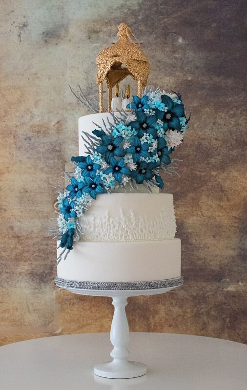 Flame of Love Cake