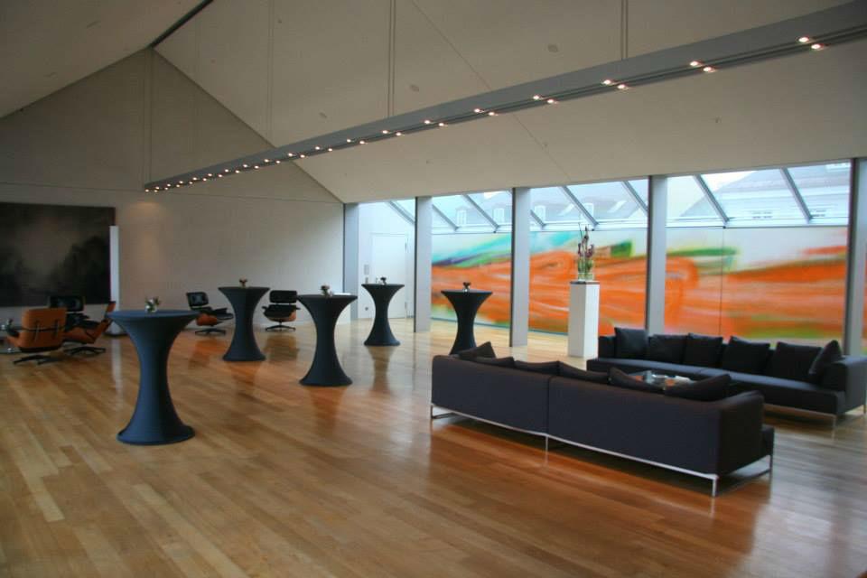 Beispiel: Eventgestaltung - Empfang, Foto: Deko Design.