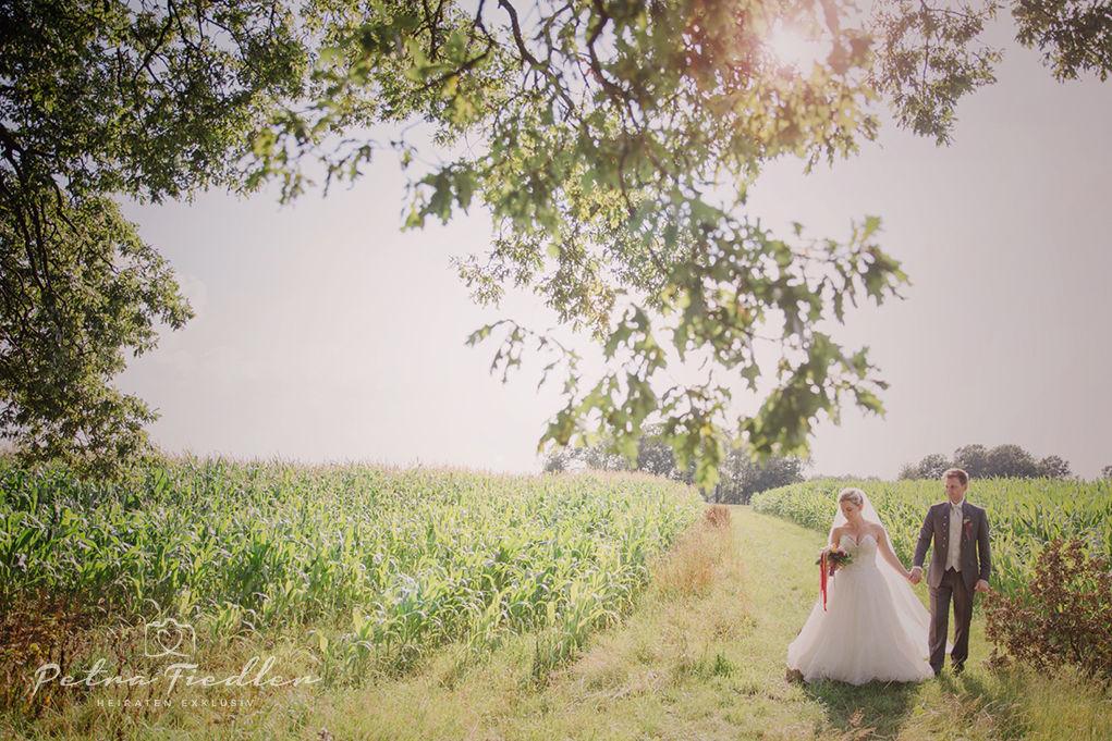 Hochzeitsportrait Maxi & Martin