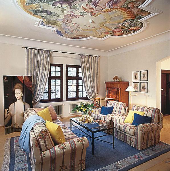 Beispiel: Herzogin Suite, Foto: Burg Wernberg.