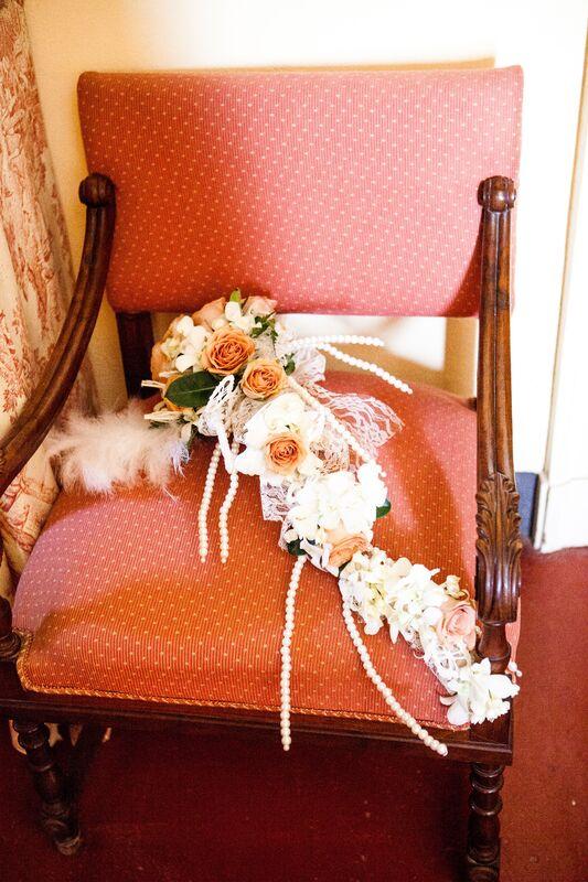 B&B Eventi Wedding - bouquet a tema anni '20