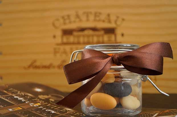 Bügelglas mit Zuckermandeln, photocredit Celebrista. Marketing & Pr.