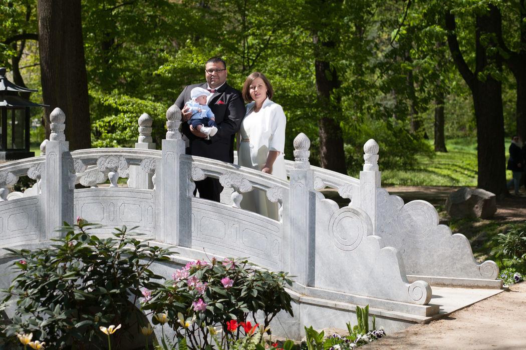 Patrycja i Javier - wspólne rodzinne zdjęcie