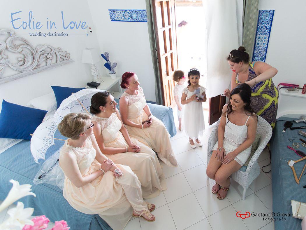 Wedding Hotel La Piazza - Panarea