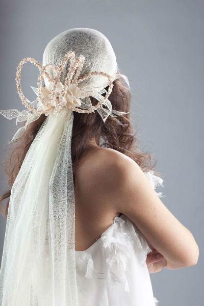 Casquete novia