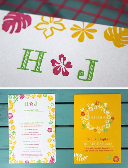 Beispiel: Überraschen Sie Ihre Gäste mit diesen Einladungen, Foto: Ein Stück vom Glück.