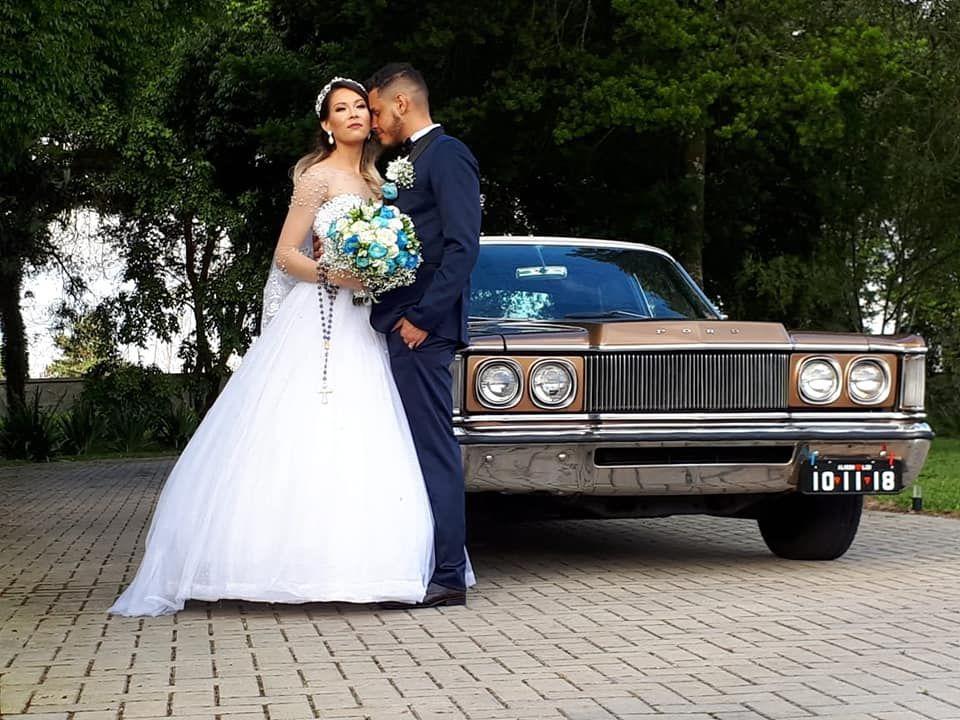 Carros da noiva - Ltd Locações