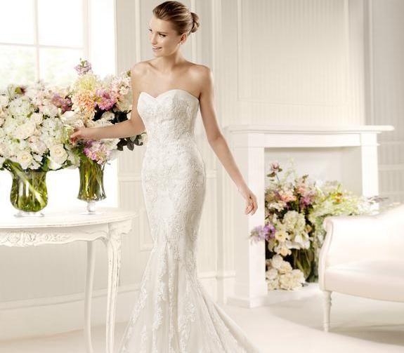 Beispiel: Brautkleid von La Sposa, Foto: Brautmoden Isabel.
