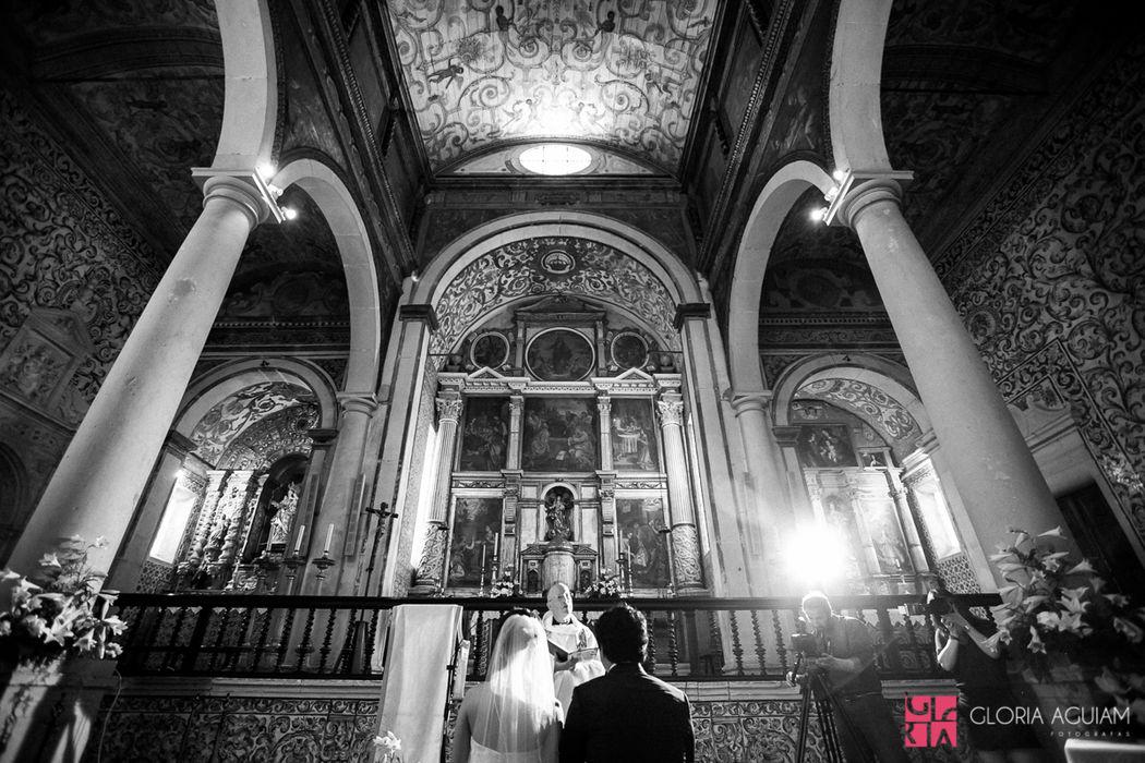 interior Igreja Sta. Maria - Óbidos