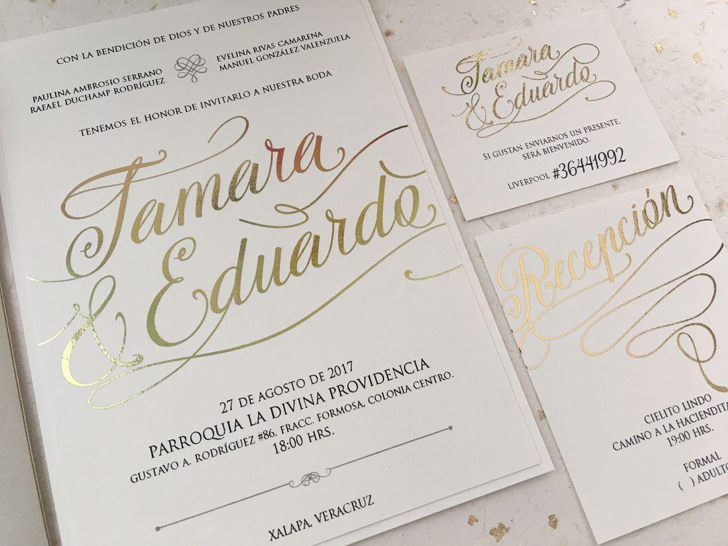 TAMARA & EDUARDO