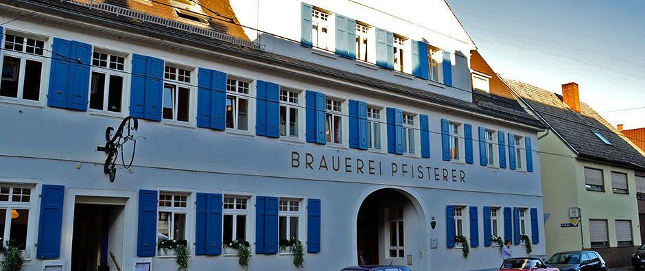 Beispiel: Außenansicht, Foto: Badischer Hof Seckenheim.