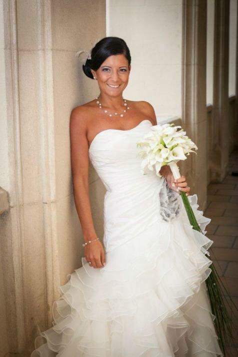 Beispiel: Wunderschöne Brautsträuße, Foto: Blumen Schuster.