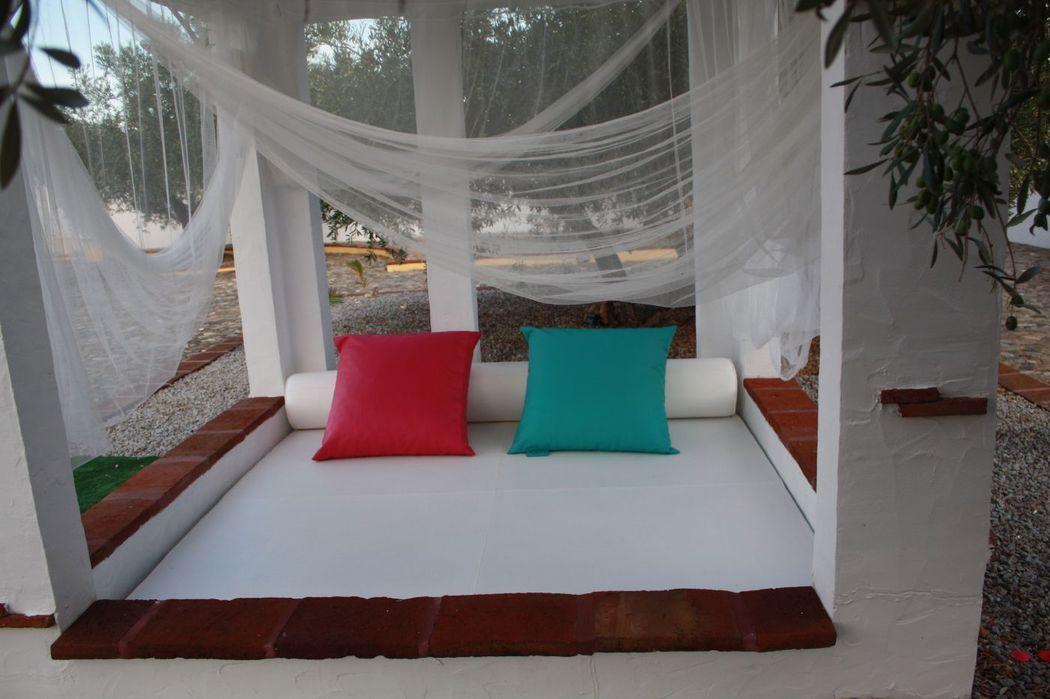 Espaço chill-out/ lounge