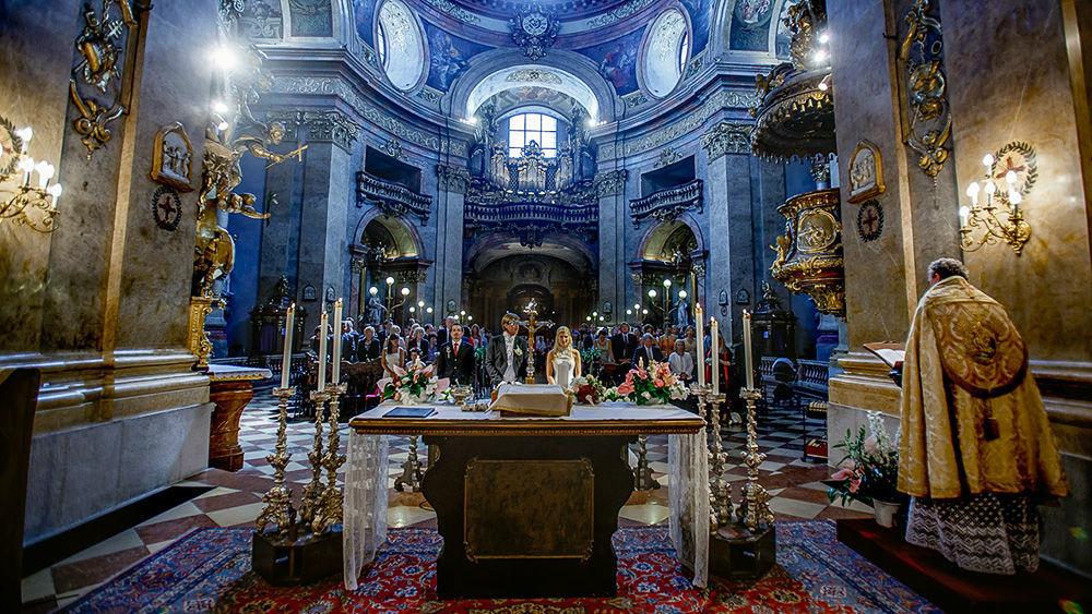 Beispiel: Fotos von der Trauungszeremonie, Foto: Markus Schneeberger.