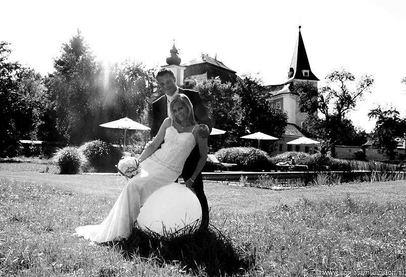 Beispiel: Brautpaar, Foto: Schloss Mühldorf.