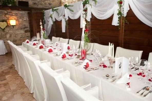 Beispiel: Tisch- und Raumdekoration, Foto: Burg Landskron.