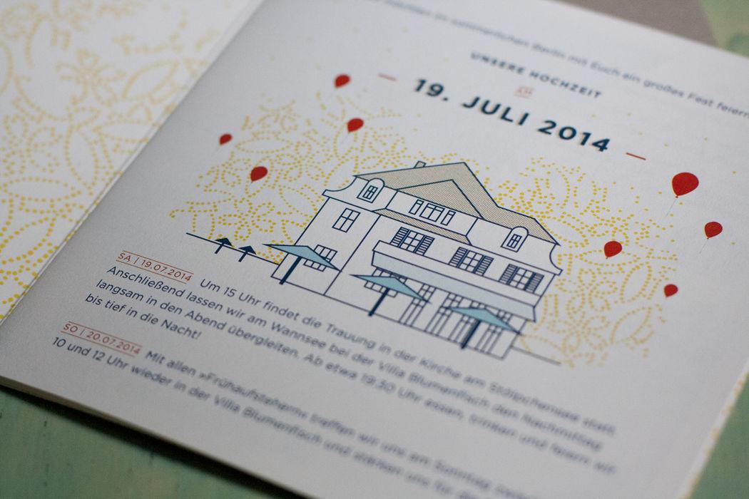 Studio Ja Ja: Hochzeitspapeterie: Lieblingsdesign
