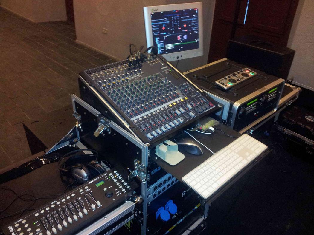 Material servicio DJ