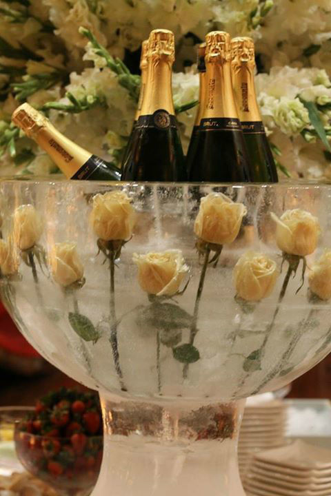 Boda en el MALI - Champagnera de hielo
