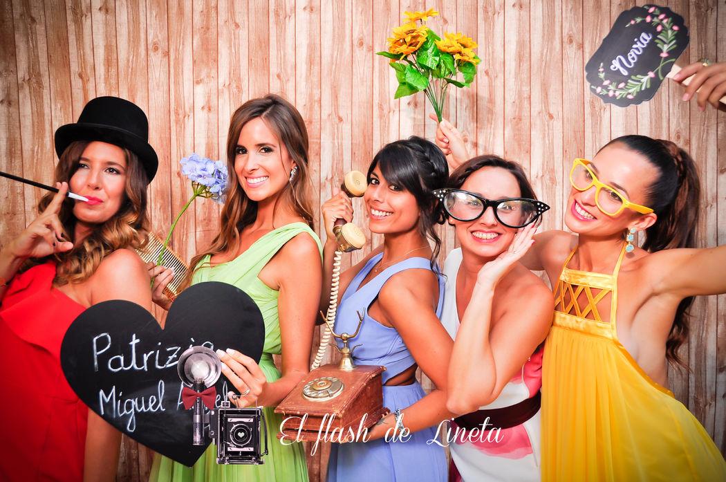 El flash de Lineta - Fotomatón para bodas y eventos
