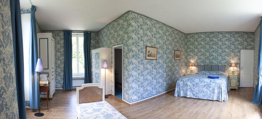 Gîte Little  5 chambres Chambre bleue