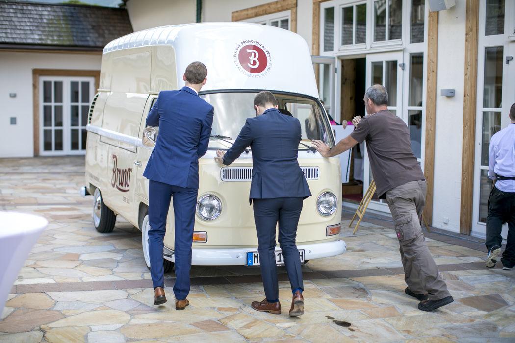 Ballabeni Icecream & Bruno der Bus