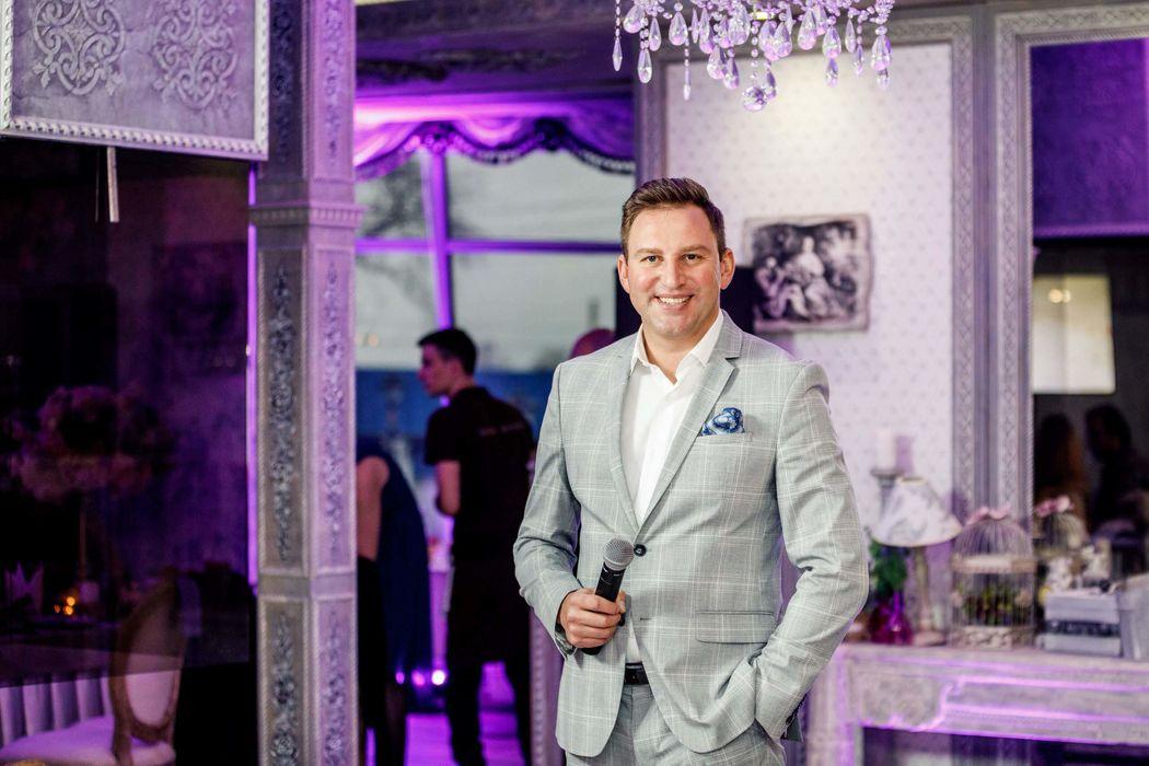 Ведущий Дмитрий Маргулян