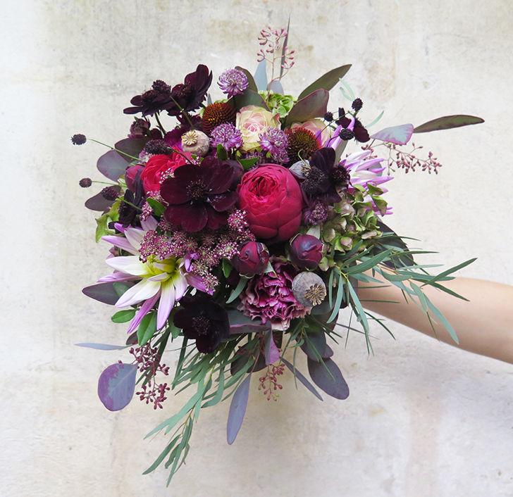 Herbes Fauves - Bouquet de la mariée