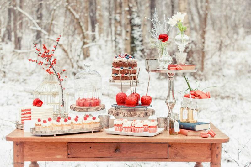 Beispiel: Candy Buffet Snow White, Foto: Zuckermonarchie.