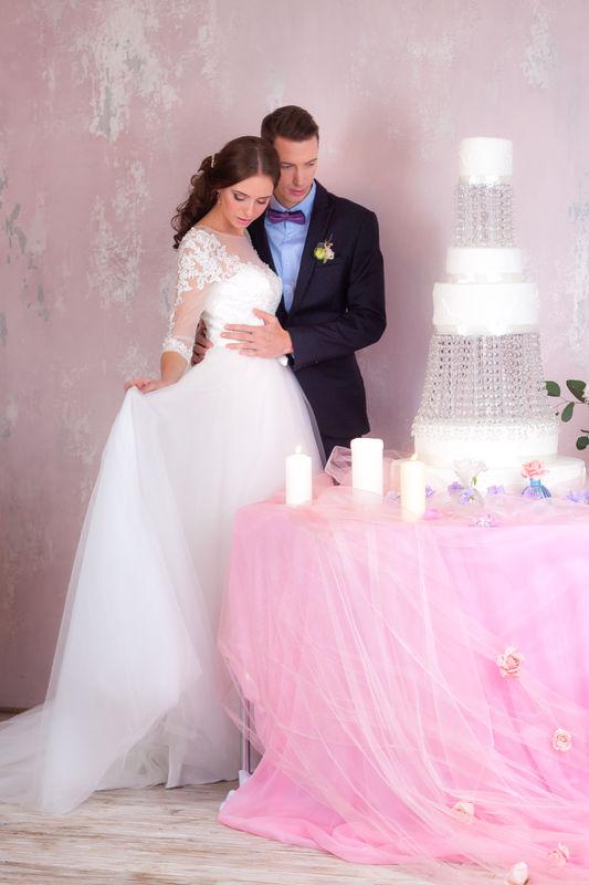 свадебный шоу-торт