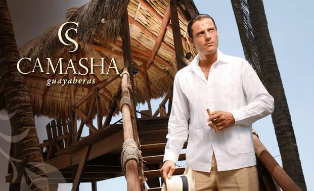 Guayaberas y trajes de lino para novios, por Camasha
