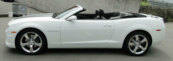 Beispiel: Camaro SS Cabrio, Foto: FirstclassLimos.ch.