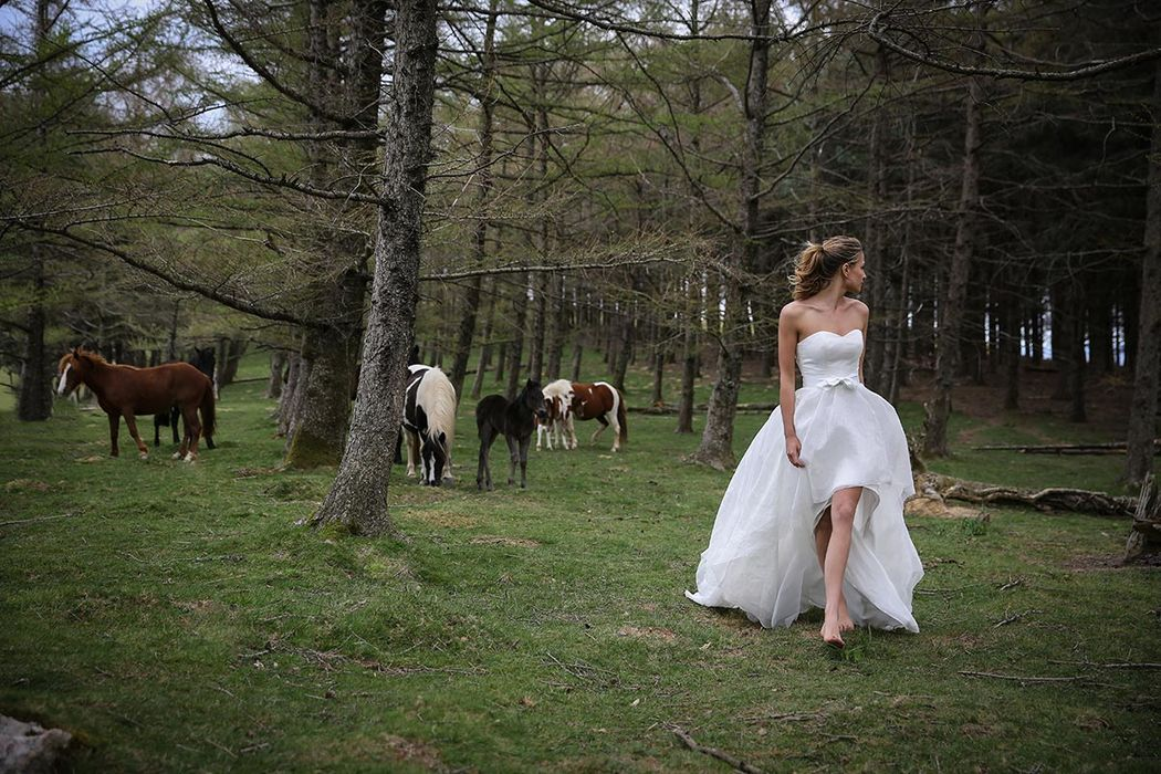 Robe de mariée Marie Laporte 2017