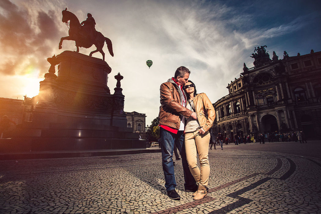 Engagement Shooting in Dresden, Foto: Torsten Hufsky.
